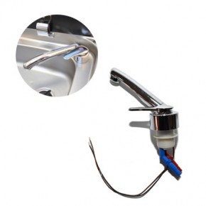 CAN 루비네토 12V 크롬프라스틱 접이식 냉온수전