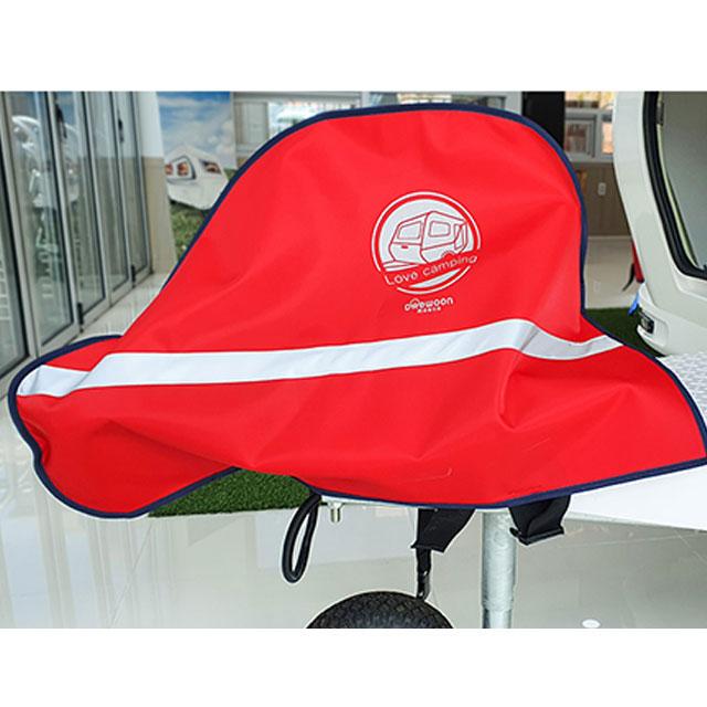 러브캠핑 카라반 커플러 커버(빨강)